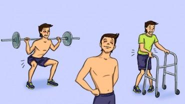 Zabawne ilustracje, które podsumowują pierwszy dzień na siłowni!