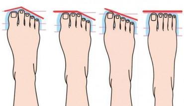 Kształt stóp i palców dużo mówi o twojej osobowości. Sprawdź i przekonaj się sam!