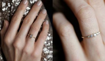 35 minimalistycznych i cudownych dzieł jubilerskich! O takim pierścionku marzy każda kobieta!