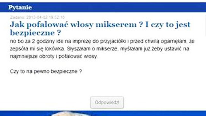 Najgłupsze pytania zadawane w sieci. Zobacz, dziwne problemy polskiego internauty!