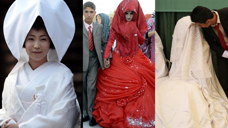 Zobacz te niesamowite suknie ślubne z różnych zakątków świata