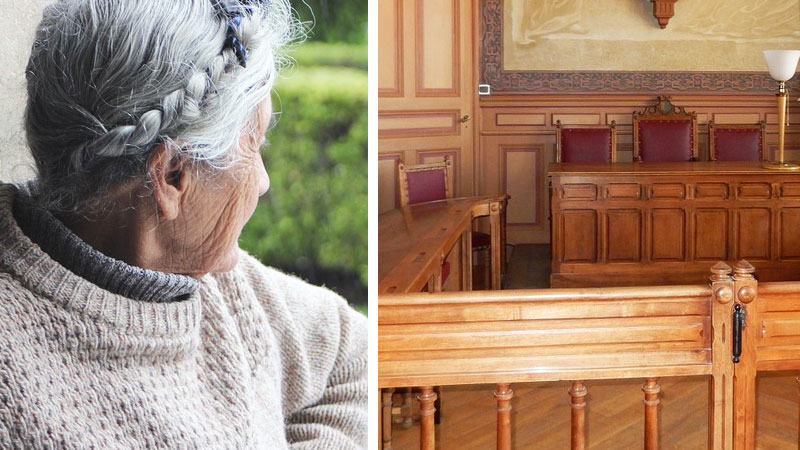 Prokurator wezwał do sądu starszą panią i zadał jej jedno krótkie pytanie. Odpowiedź zszokowała go do tego stopnia, że nie chciał pytać już o nic!