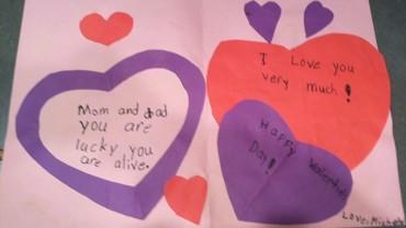 Szczere kartki walentynkowe, które przygotowały dzieci