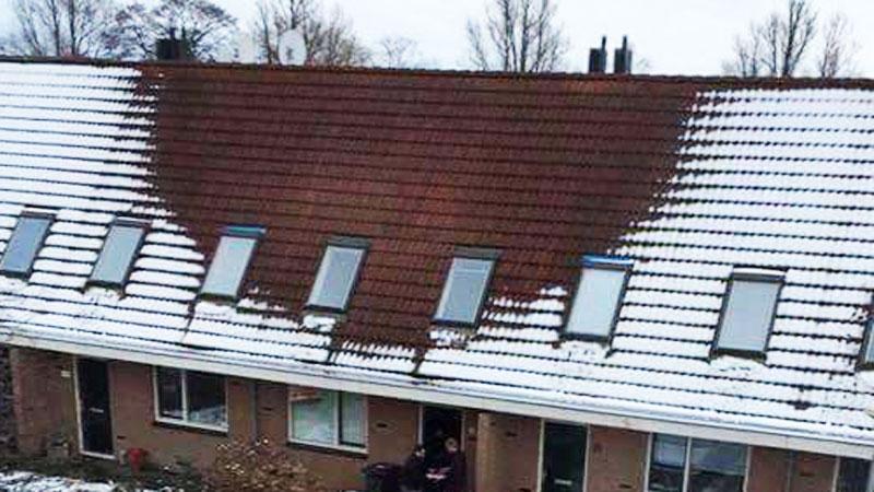 Gdy na ten budynek spał śnieg, policja od razu zorientowała się, że doszło w nim do przestępstwa! Zobacz, co wzbudziło ich podejrzenia!