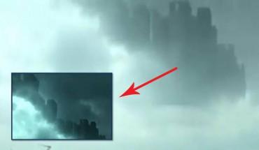 Nad Chinami ukazało się miasto w chmurach!