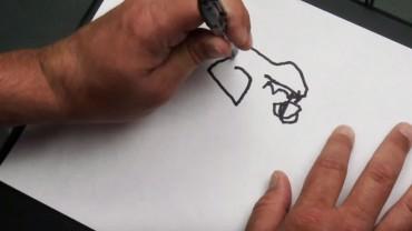 Niewidomego mężczyznę poproszono o narysowanie własnej twarzy. Zobaczcie, jak poradził sobie z zadaniem