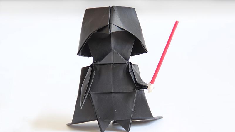Jak zrobić Lorda Vadera origami? To prostsze, niż się wydaje!