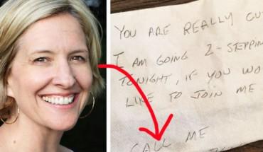 Znalazła za szybą samochodu anonimową karteczkę od wielbiciela. Kiedy zaczęła ją czytać, coś wzbudziło jej podejrzenia