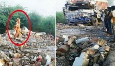 Świadkowie tego wypadku są przekonani o ingerencji istot wyższych! Co stało w indyjskiej świątyni?