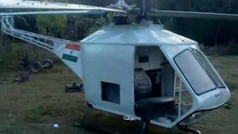 Chcesz mieć prywatny helikopter? Weź przykład z Chandra Sharma i zbuduj go sam!