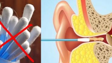 Czyszcząc uszy, wykładasz do środka patyczek? Wiesz, że nie jest do tego przeznaczony?