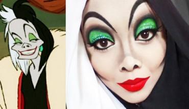 Za pomocą makijażu zmienia się w bohaterów z bajek Disneya. Metamorfozy naprawdę robią wrażenie!