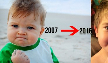 Pamiętasz chłopca z zabawnych memów? Dziś ma prawie 10 lat! Zobacz, jak się zmienił!