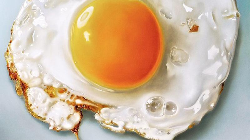 Myślałam, że to zwykłe smażone jajko. Gdy przyjrzałam się bliżej, dostrzegłam, że to coś zupełnie innego...