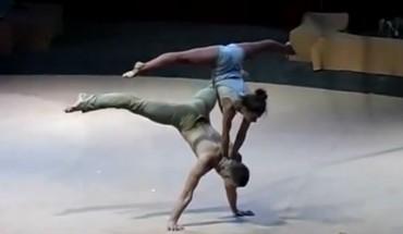 Akrobatyka i taniec to popularne połączenie, jednak ta para wprawia w osłupienie wszytskich, nie tylko jury…