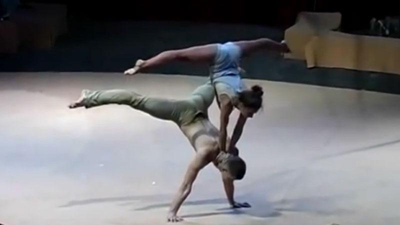 Akrobatyka i taniec to popularne połączenie, jednak ta para wprawia w osłupienie wszytskich, nie tylko jury...