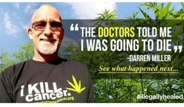 Mężczyzna usłyszał od lekarzy wyrok śmierci. Nie poddał się i wyleczył chorobę, stosując olej z konopi!