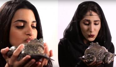Współczesne księżniczki… całują żabę! Zobacz, jak wybrnęły z zadnia i jak je komentowały