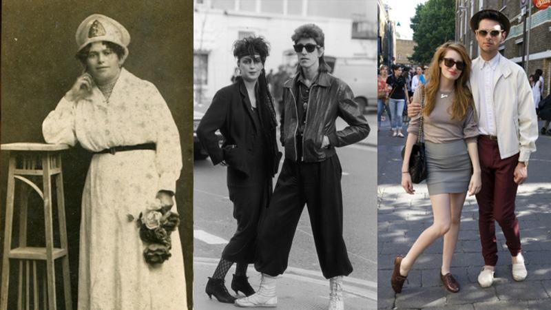 Tak właśnie zmieniała się moda w ciągu ostatnich 100 lat! Ciekawe zestawienie pokazuje, jak ubierali się ludzie i co uważali za must have