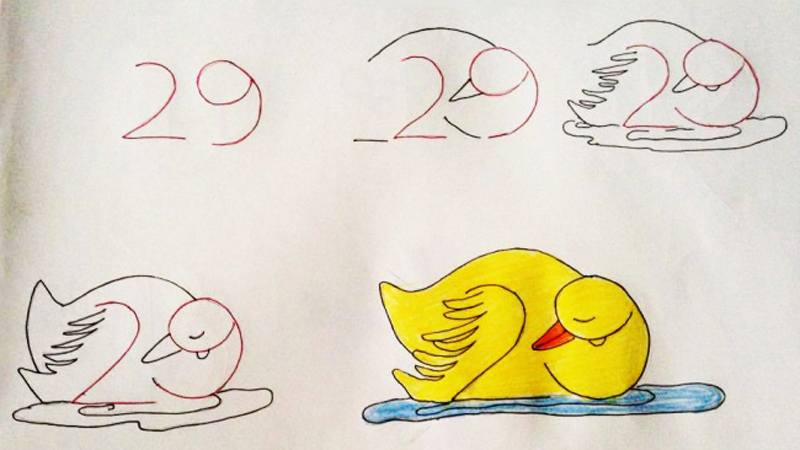 Nie umiesz rysować, a dziecko dopomina się pomocy? Oto genialne sposoby, jak z liczb zrobić zwierzaki i nie tylko!