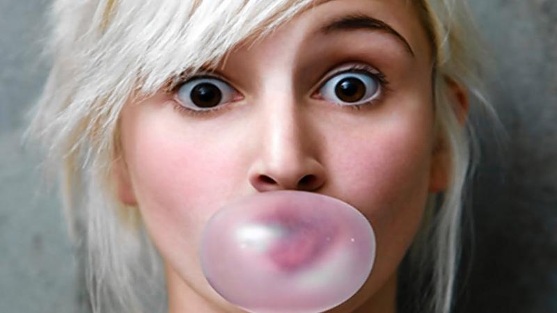 Co się stanie w twoim organizmie, gdy połkniesz gumę do żucia? Przeczytaj koniecznie!