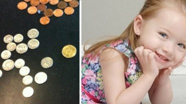 8-letnia dziewczynka bierze swoje oszczędności i biegnie do apteki. Powód, dla którego to robi, jest bardzo bolesny