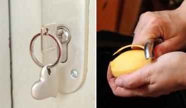 Nie lubisz obierać ziemniaków? Nie pamiętasz, czy zamknąłeś drzwi? Oto 10 trików, które ułatwią twoją codzienność
