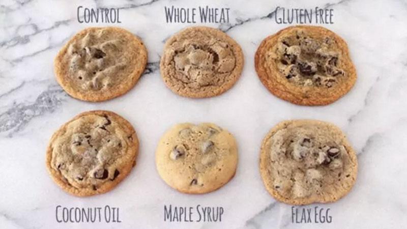 Chcesz upiec ciasteczka, ale nie wiesz jaki przepis wybrać? Zobaczcie, czym różnią się wypieki w zależności od składu ciasta