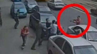 Narzekacie na bezpieczeństwo w polskich miastach? Zobaczcie to nagranie z Rosji, a przekonacie się, czym jest uliczna agresja