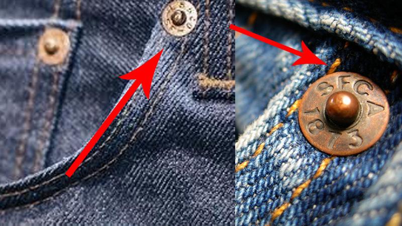 Nie zgadniesz, dlaczego popularne dżinsy mają takie nity!