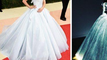 Z pozoru to zwykła suknia, jednak gdy zapadnie ciemność zmienia się w coś magicznego. Musisz to zobaczyć!