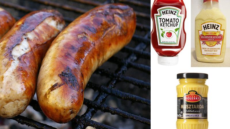 Z czym najlepiej zjeść kiełbaskę z grilla? Z musztardą, ketchupem czy chrzanem? Odpowiedź jest prosta!