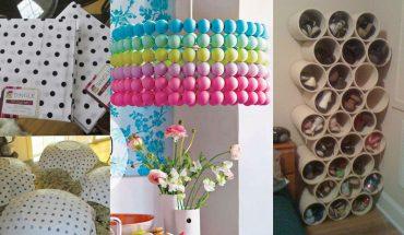 15 świetnych pomysłów DIY, które zmienią twój dom za grosze