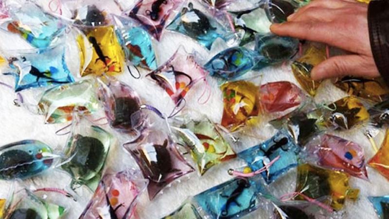 W Chinach sprzedają zwierzęta jako żywe breloczki. Nie uwierzysz, co robią z nimi potem!