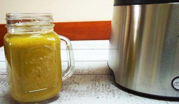 Koktajl jabłkowo-marchewkowy ze szpinakiem