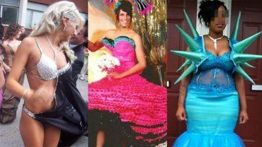 Sukienki, jakie wybierają amerykańskie dziewczyny na bal życia z pewnością odbiegają od naszych standardów!
