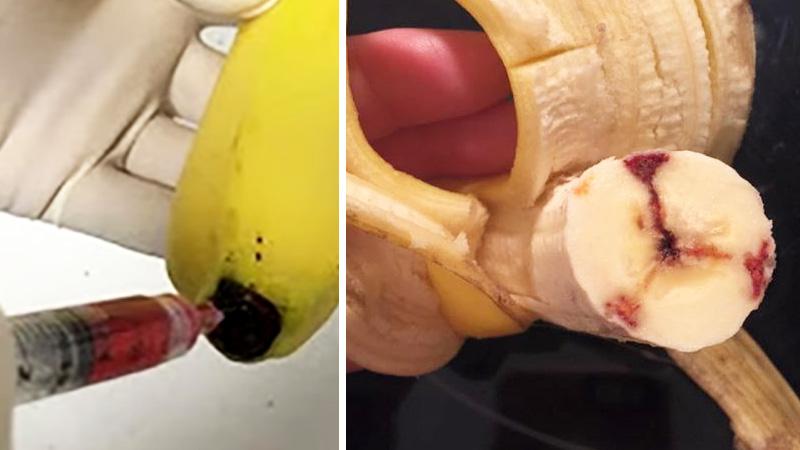 """Tajemnica """"krwawych bananów"""", czyli co tak naprawdę kryje się za ich dziwnym wyglądem!"""
