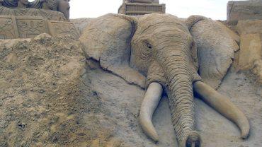 Te gigantyczne rzeźby zachwycają swoją precyzją. Nie uwierzysz, z czego zostały zrobione!