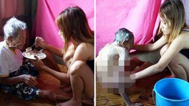 Opublikowała na Facebooku zdjęcia swojej 98-letniej babci. Takiej reakcji internautów z pewnością nie oczekiwała!