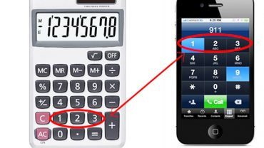 Dlaczego numery na kalkulatorach i telefonach komórkowych są umieszczone po przeciwnych stronach? My znamy odpowiedź!