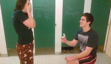 Ci faceci oświadczyli się w takich miejscach, że szkoda słów… Ciekawe czy dziewczyny się zgodziły