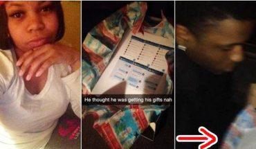 Odkryła, że jej chłopak ją zdradza. Podarowała mu pewien prezent, który skompromitował go przed całą rodziną