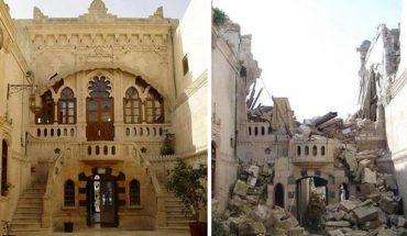 W krótkim czasie z pięknego antycznego miasta pozostały gruzy… Zobaczcie wstrząsające zdjęcia przed wojną i tuż po jej zakończeniu