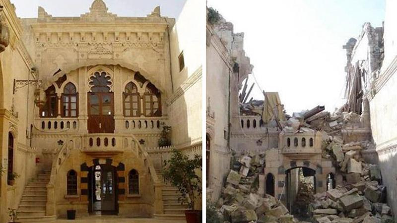 W krótkim czasie z pięknego antycznego miasta pozostały gruzy... Zobaczcie wstrząsające zdjęcia przed wojną i tuż po jej zakończeniu