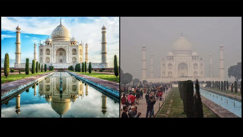 Zwiedzanie znanych miejsc zdecydowanie różni się od oczekiwań, jakie ma turysta. Wystarczy spojrzeć na te zdjęcia