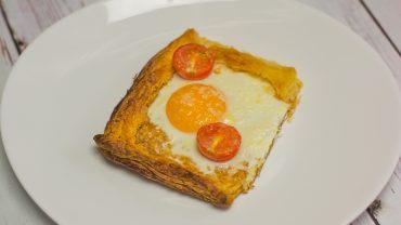 Mini tarta śniadaniowa