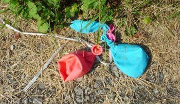 Mężczyzna znalazł przebity balon na polu. Dołączona informacja wzruszyła go do łez!
