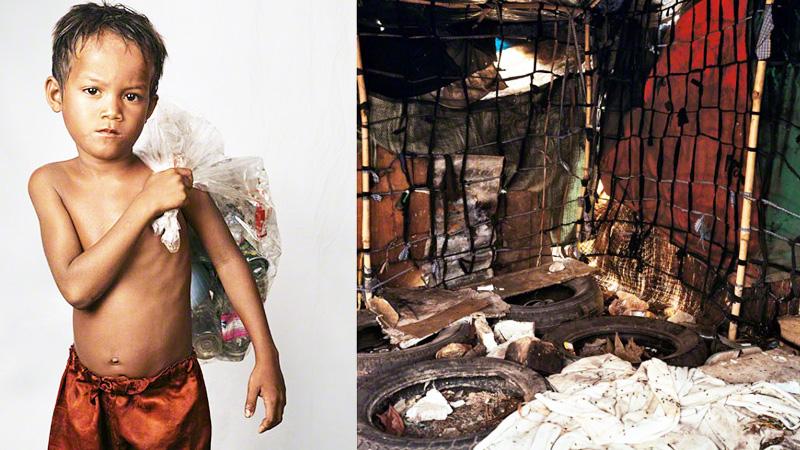 Sfotografował pokoje dzieci z całego świata. Niektóre zdjęcia wyrażają więcej niż tysiąc słów...