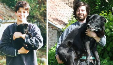 """15 szczeniaczków, które """"nagle"""" zamieniły się w dorosłe psy. Niesamowite, jak ten czas szybko leci!"""