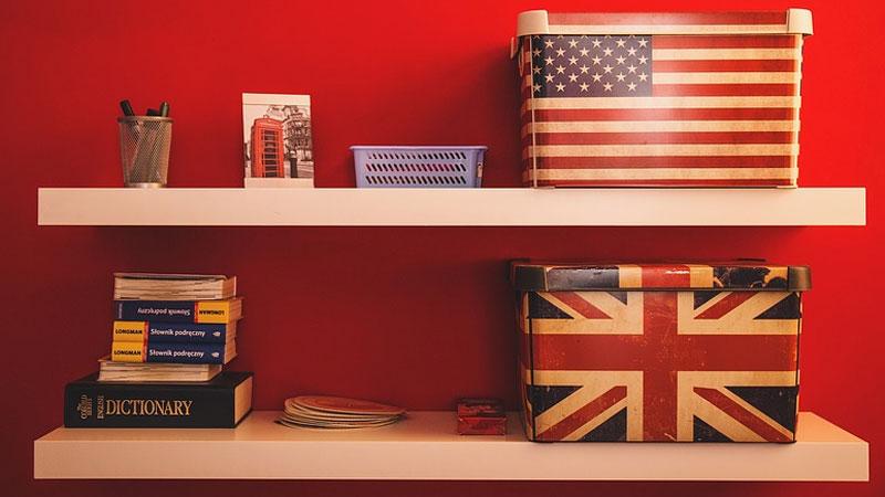 Sprawdź, jakim wariantem języka angielskiego posługujesz się częściej: brytyjskim czy amerykańskim?